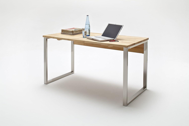 Schreibtisch holz modern  Robas Lund 40306KB5 Schreibtisch, Holz, braun, 76 x 69 x 12 cm ...