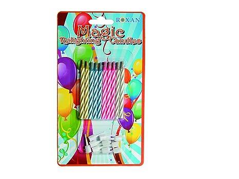 Amazon.com: Vela perfumada tienda mágica velas de cumpleaños ...
