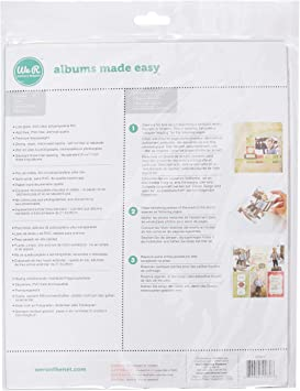 We R Memory Keepers 8.5 x 11 inch 3-Ring Album Page Protector 10 PK