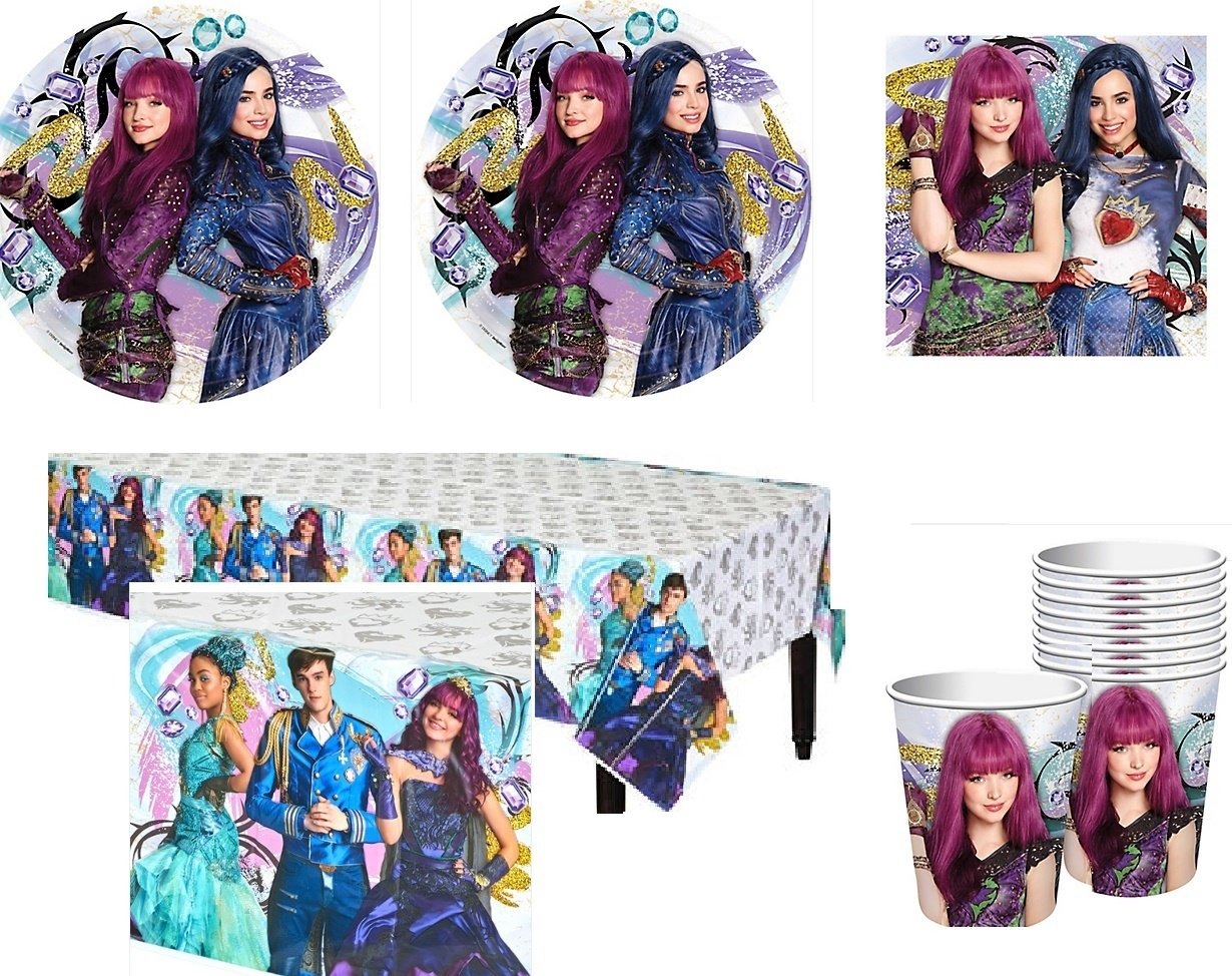 Amazon.com: Descendants 2 - Isle of the Lost - Party Pack for 16 ...