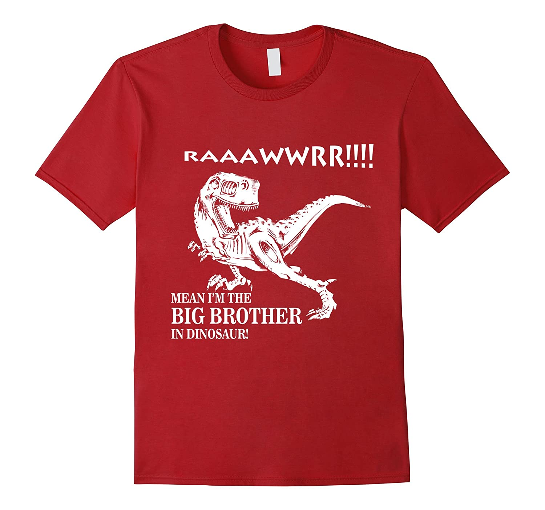 Big Brother Shirt Rawr I'm The Big Brother In Dinosaur