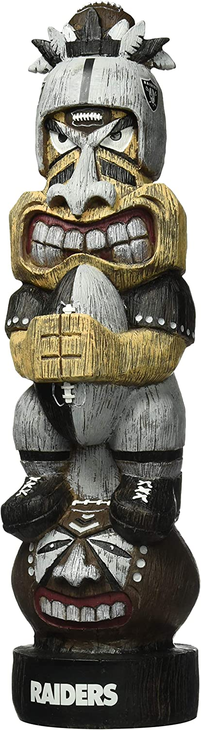 "Forever Collectibles NFL Team 15.5"" Tiki Figurine Statue"