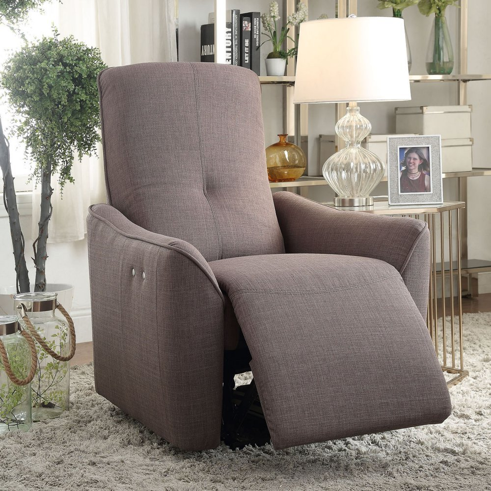 Amazon.com ACME Furniture 59344 Agico Recliner (Power Motion) Gray Fabric Kitchen u0026 Dining & Amazon.com: ACME Furniture 59344 Agico Recliner (Power Motion ... islam-shia.org