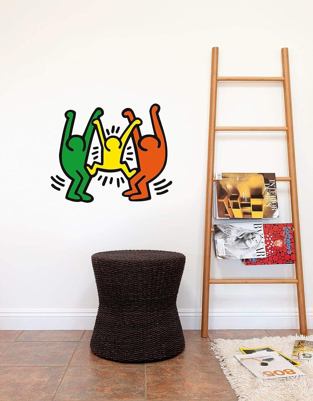 BLIK Keith Haring Wall Sticker Family キースヘリング ウォールステッカー ファミリー B07CYZ1MND