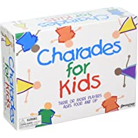 Pressman Charades for Kids (Three or More Players Ages Four And Up) - Multicolor