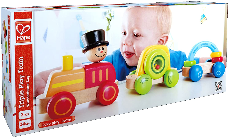Nachziehspielzeug HAPE Beleduc Hape E0431 Wunderbarer Zug