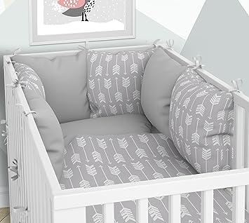 Lot de 3 housses de couette pour bébé 90 x 120 cm avec drap housse