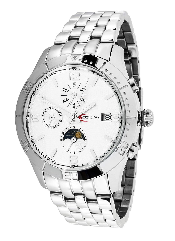 Creactive Herren-Armbanduhr Automatik Analog Edelstahl - CA120117