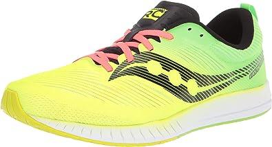 Saucony Fastwich 09 Zapatillas de Carretera o de Atletismo Ultraligeras con Soporte Neutro para Hombre Amarillo: Amazon.es: Zapatos y complementos
