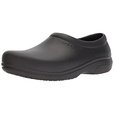 Crocs Unisex On The Clock Work Slip On | Mules & Clogs