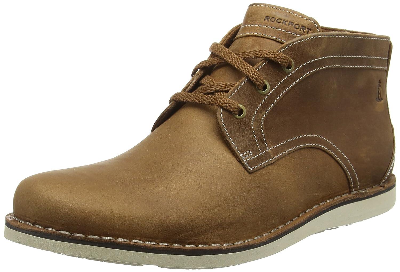 Rockport PT, Botines para Hombre, Marrón, 42 EU: Amazon.es: Zapatos y complementos