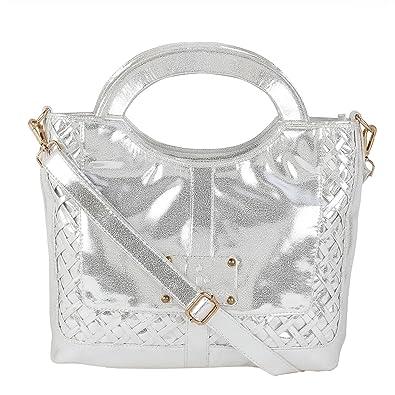 0689b48e28ed Giant Roots Designer Leather Women s Stylish Top-Handle Bag  Amazon.in   Shoes   Handbags