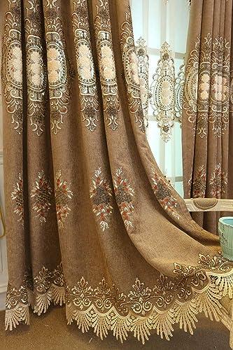 TIYANA Luxury Window Curtain Panel 96 inch Length