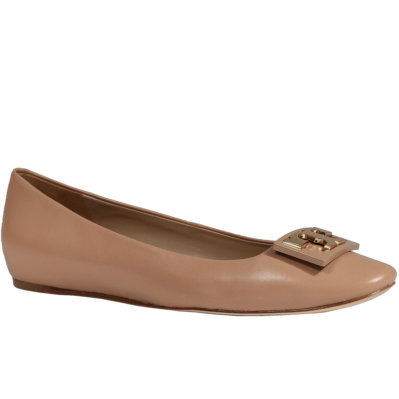 Tory Burch Gigi Ballet Flat Shoes Leather