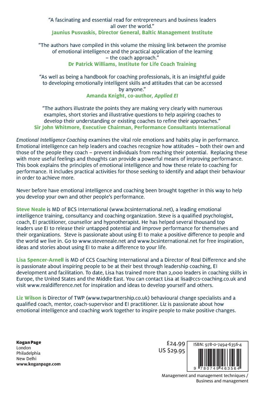 Buy Emotional Intelligence Coaching Improving Performance For