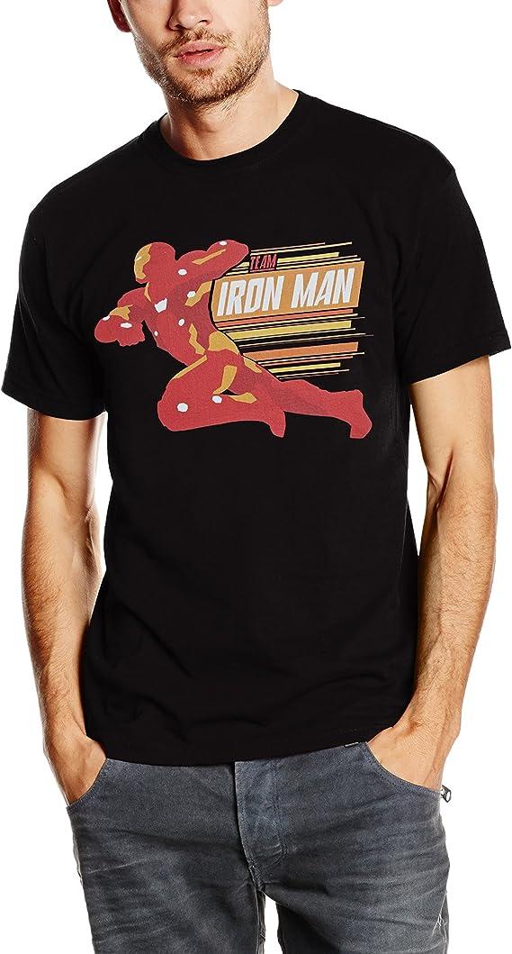 Marvel Civil War Tunning Team Iron Man Camiseta para Hombre ...