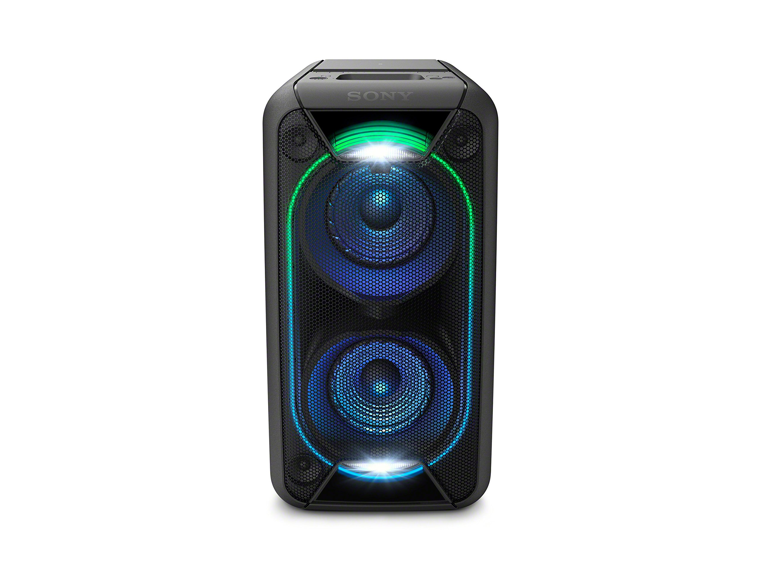 Sony GTK-XB90 Bluetooth High Power Party Speaker, with Built-in Battery and Lighting Effects GTKXB90B.CEK, black