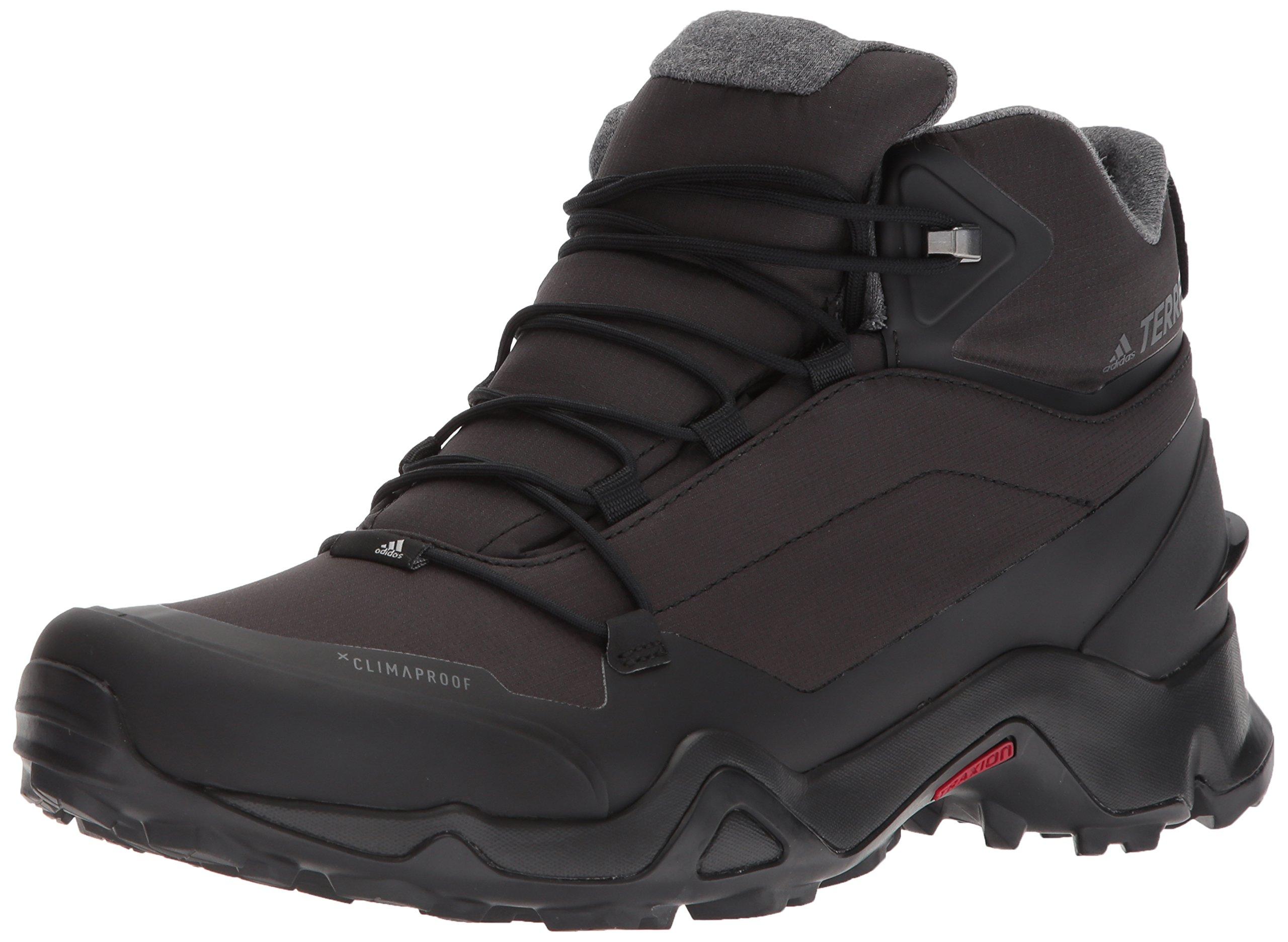 adidas Outdoor Men's Terrex Fastshell Mid CW CP Walking Shoe, Core Black/Core Black/Grey Five, 12 D US