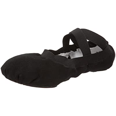 Bloch Women's Pro Elastic Ballet Slipper,Black,3 C US