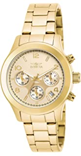 Invicta Womens 19217 Angel Analog Display Quartz Gold Watch