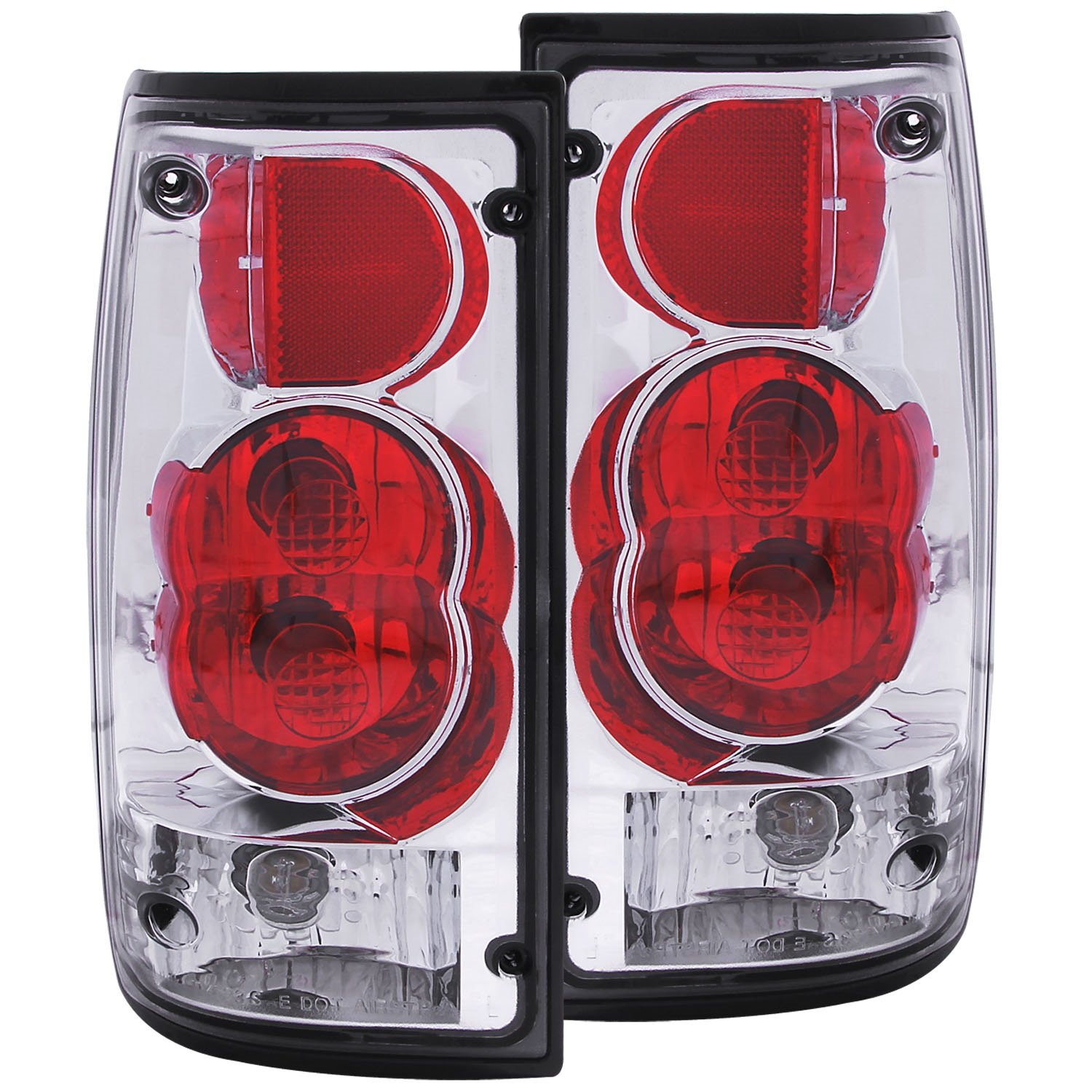 Anzousa 211181 dark smoke g2 taillight for toyota pickup sold in pairs tail light assemblies amazon canada