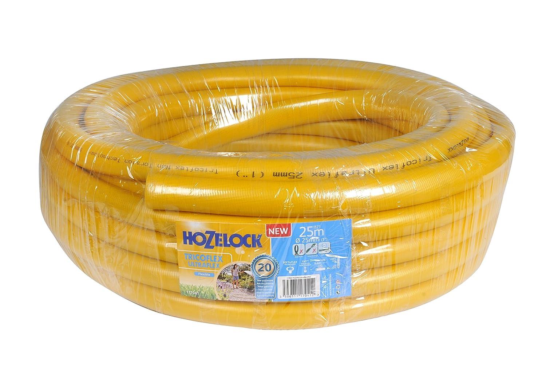 Hozelock Tricoflex 117041 Gartenschlauch Ultraflex, gelb