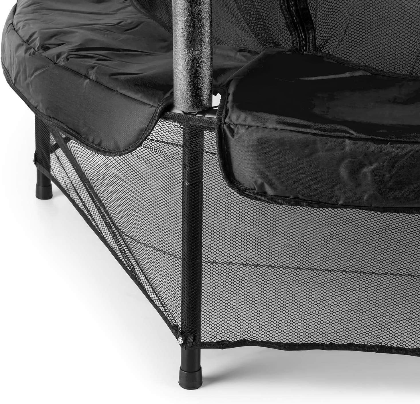 Klarfit Rocketkid cama elástica infantil (140 cm de diámetro, red ...