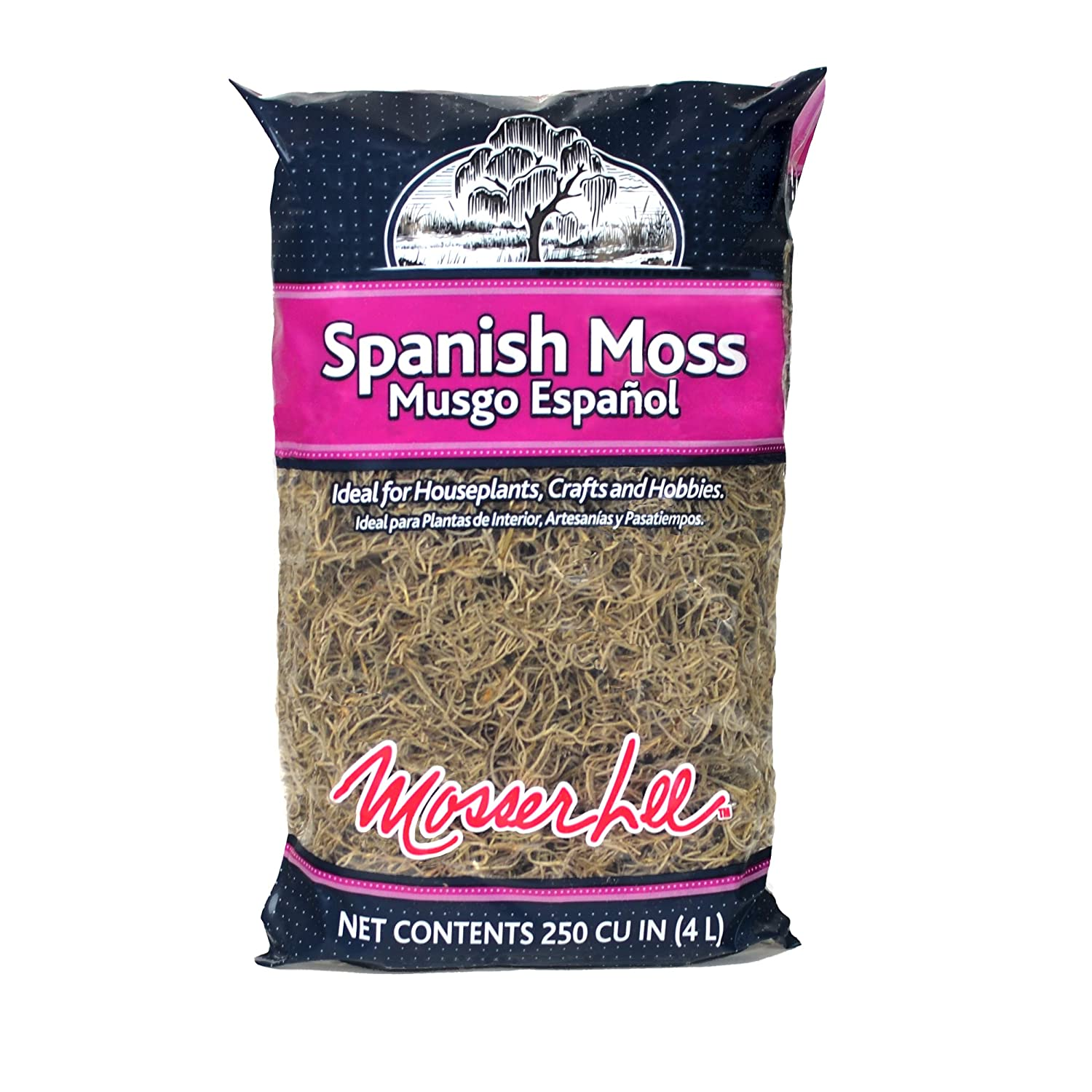 Mosser Lee ML0560 Spanish Moss, 250 cu. in.