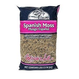 Mosser Lee ML0560 Spanish Moss, 250 cu. in.