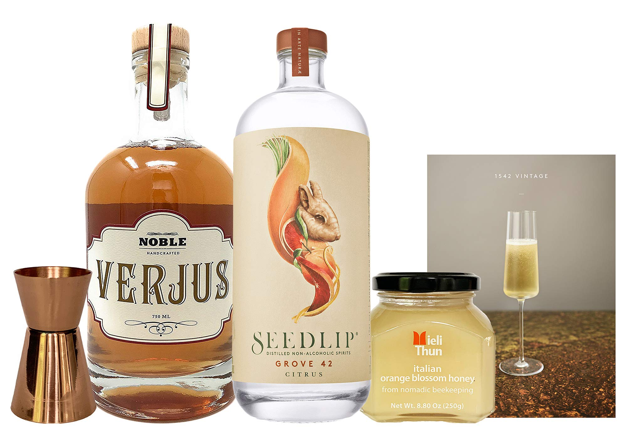 Seedlip Grove 1542 Vintage Bundle (5 Items) by The Curated Pantry (Image #1)