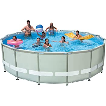 Amazon.com: Intex 16-Feet by 48-Inch Ultra Frame Metal Frame Pool ...
