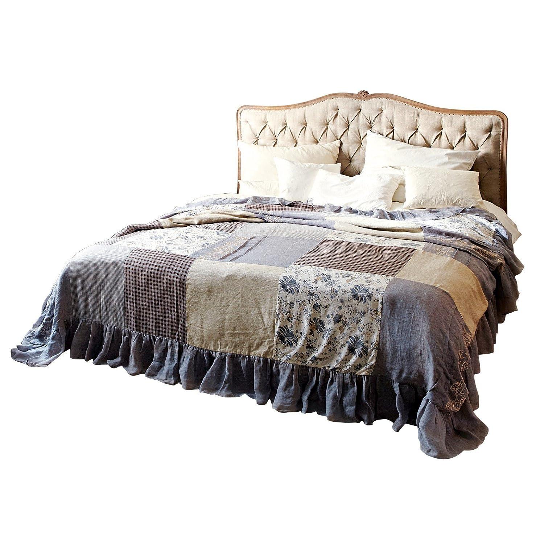 LOBERON Herrschaftliches Bett Declaire mit gepolstertem Kopfteil ...