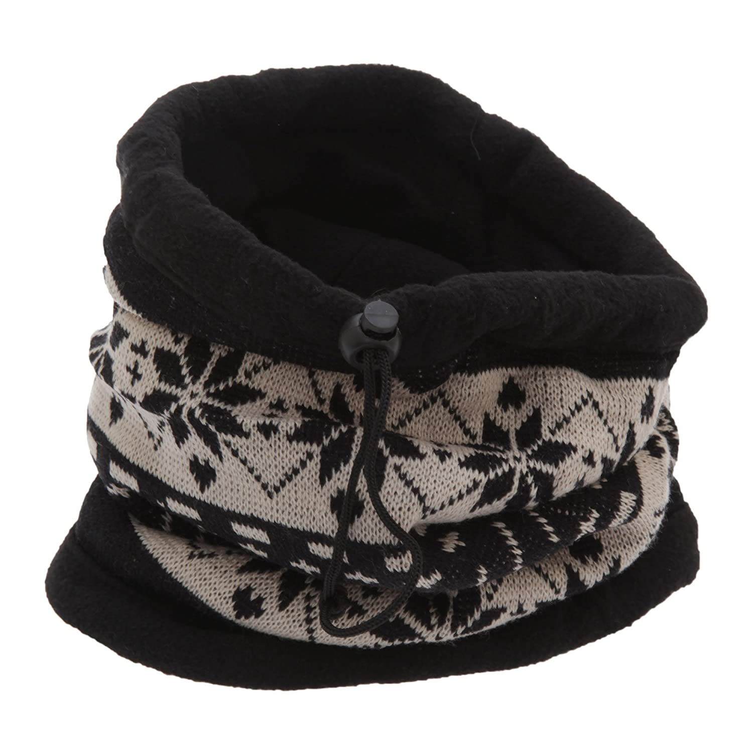 Unisex Patterned Snowflake Design Multifunctional Winter Hat/Snood/Mask Universal Textiles UTHA242_2