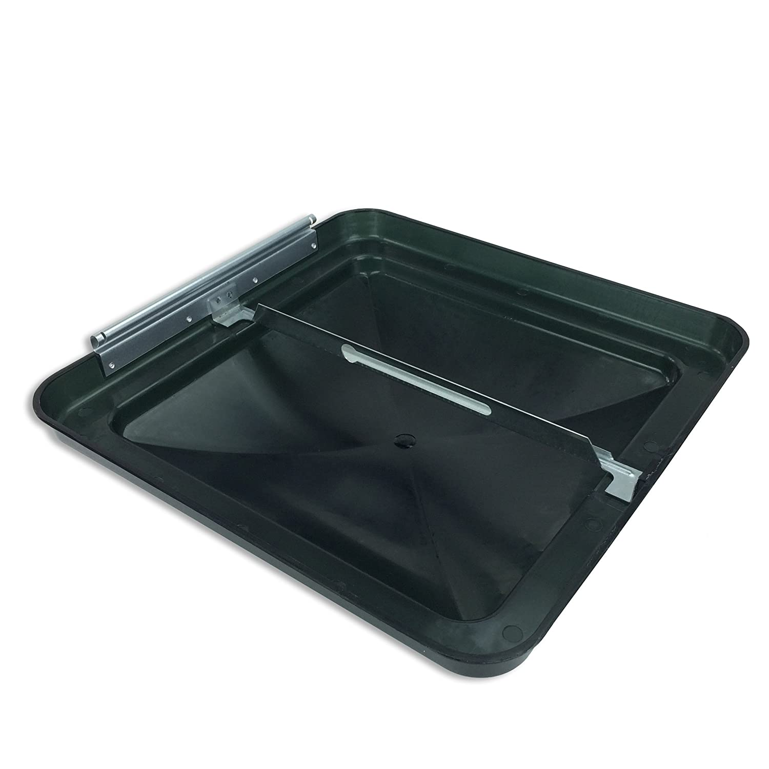 Hengs NEW BLACK 14X14 14 X 14 REPLACEMENT ROOF VENT COVER FOR CAMPERS RVS TRAILERS MOTORHOMES
