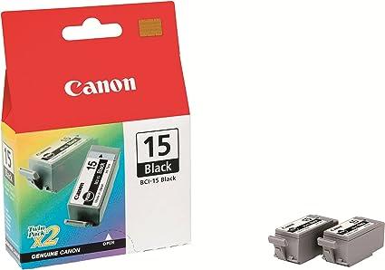 Canon BCI-15 2 Cartuchos Twinpack de tinta original Negro para ...