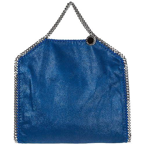 eeb745011092 Stella Mccartney women Falabella Fold Over handbags blu  Amazon.co.uk   Shoes   Bags