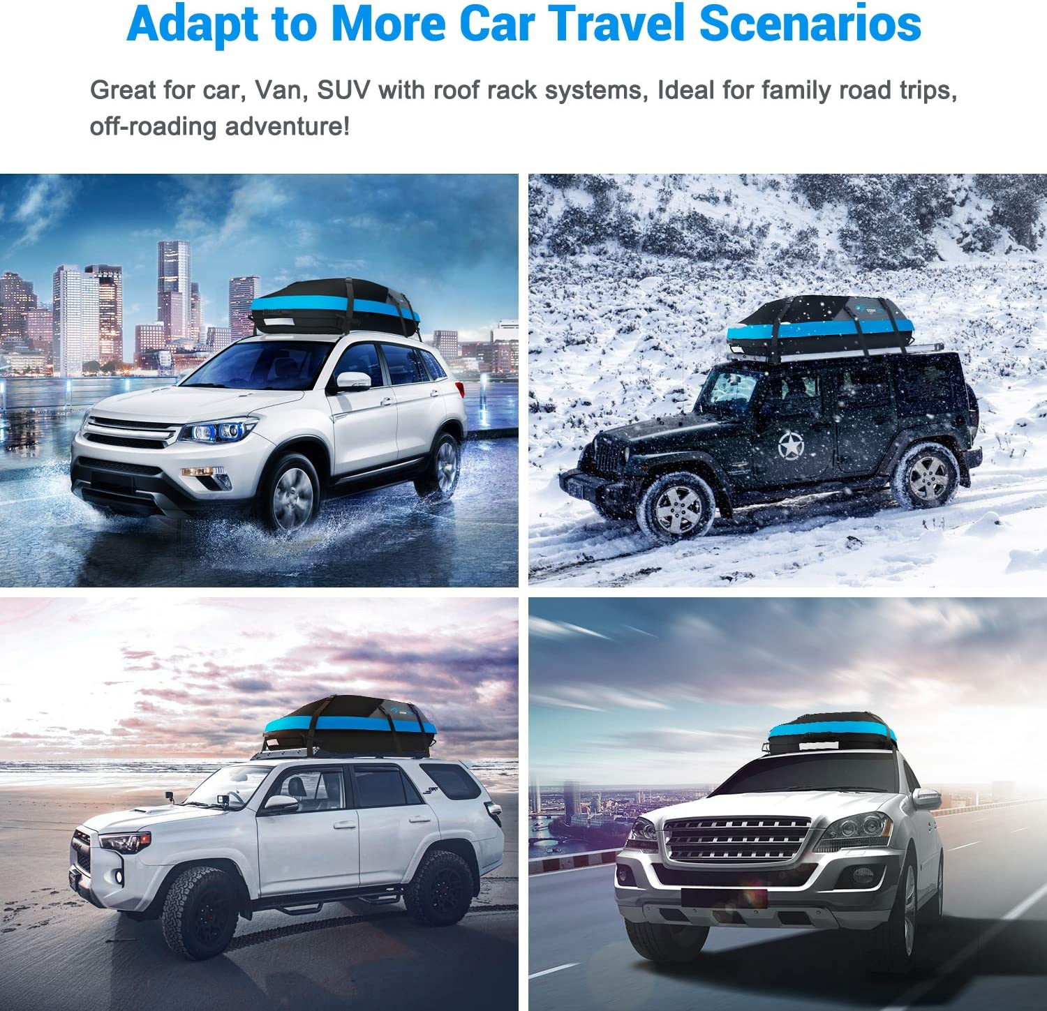 Top 5 Best Soft Rooftop Cargo Carrier for Your Next Trip 5