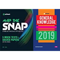 Map the SNAP Solved Papers (2016-2005) & 5 Mock Tests With General Knowledge 2019 Arihant