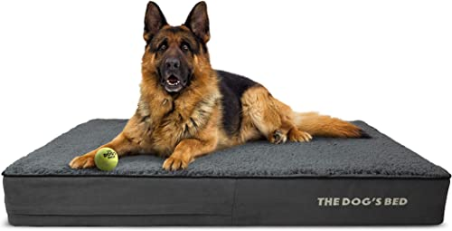 The-Dog's-Bed-Orthopedic-Dog-Bed,-Premium-Memory-Foam-S-XXXL,-Waterproof,-Dog-Pain-Relief-for-Arthritis