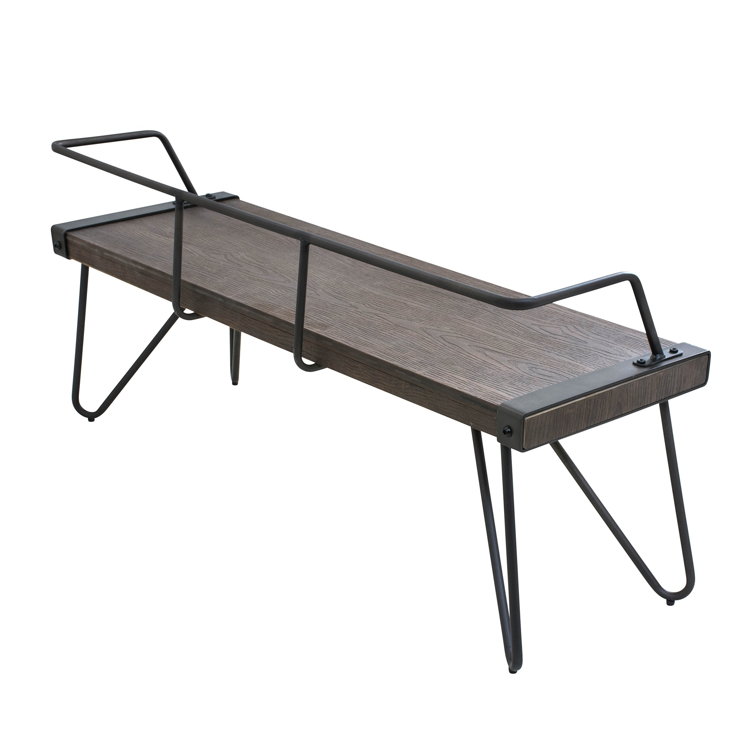 WOYBR DC-STFBEN WL+AN Wood, Metal Stefani Bench by WOYBR (Image #3)