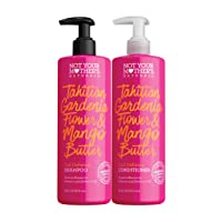 Not Your Mother's Naturals Curl Defining Tahitian Gardenia Shampoo & Conditioner...