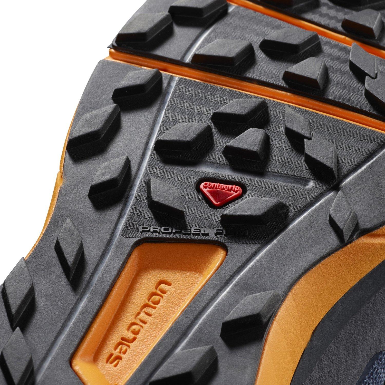 Salomon Sense Ride Running 10.5 Shoe - Men's B01N1IZYZI 10.5 Running D(M) US|Navy Blazer/Bright Marigold/Ombre Blue 69b0d1