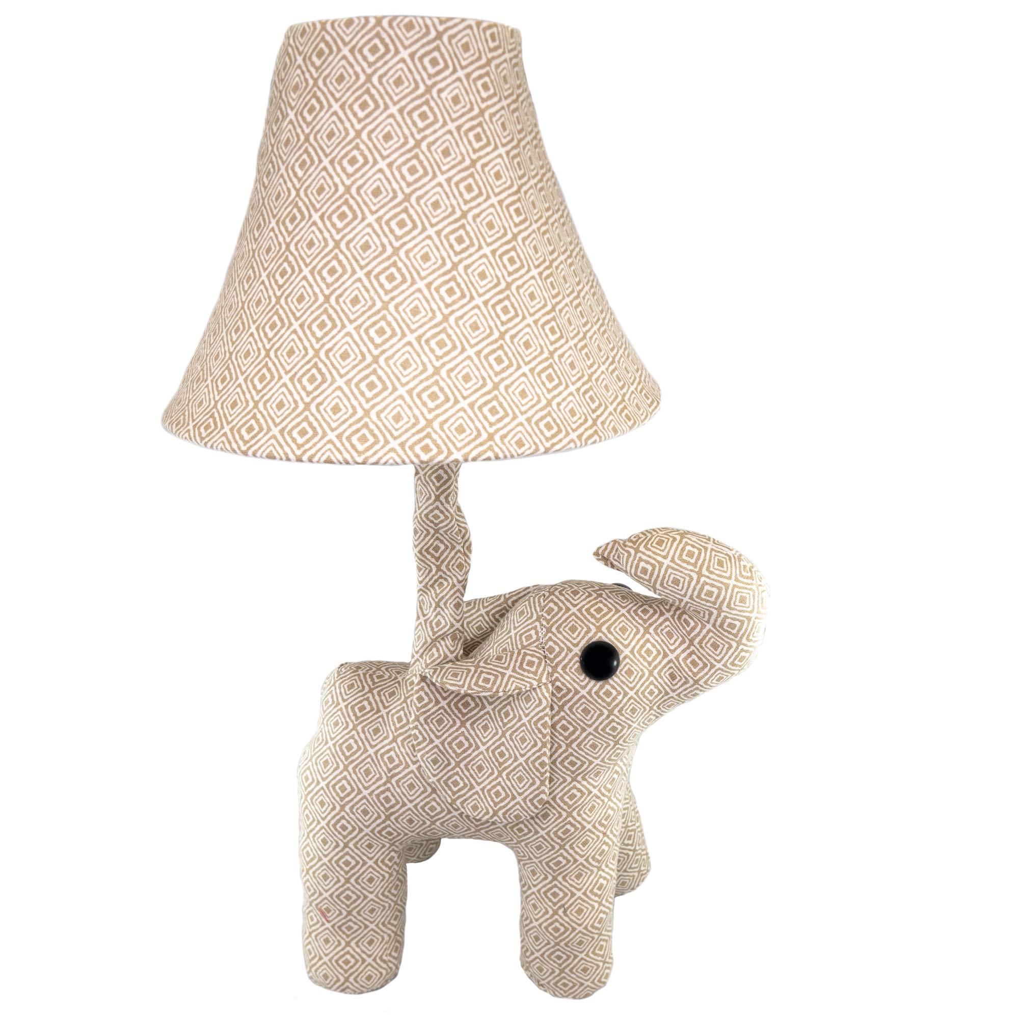 Fifth + Nest Kids Nursery Lamp - Plush Animal Table Top Lamps for Bedrooms - Cute Bedroom Decor for Baby, Toddler and Children's Room