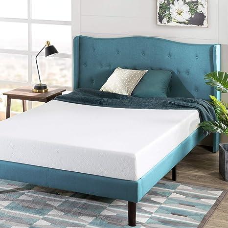 Amazon Com Zinus 6 Inch Green Tea Memory Foam Mattress Certipur Us Certified Bed In A Box Pressure Relieving Short Queen Furniture Decor