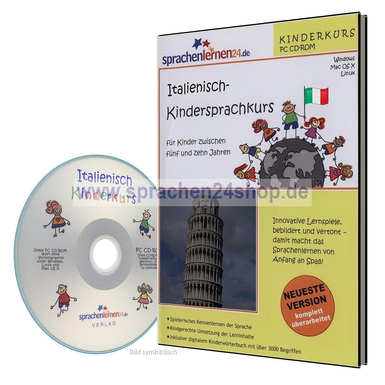 Italienisch-Kindersprachkurs auf CD, Italienisch lernen für Kinder ...
