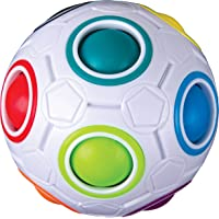 Duncan Color Shift Puzzle Ball - 12 Holes, 11 Multicolor Balls, Problem Solving Fidget Ball
