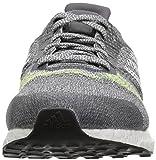 adidas Men's Ultraboost ST, Grey/Lime, 12 M US
