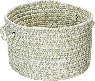 product image for Colonial Mills CA69 14 by 14 by 10-Inch Catalina Storage Basket, Greenery