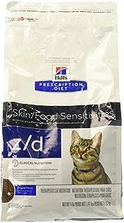 Hills Z/D Low Allergen Cat Food 4 lb