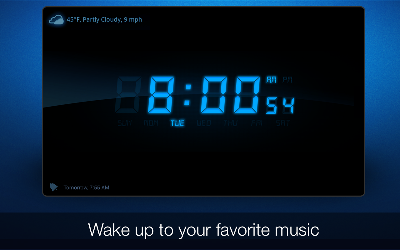 Amazon My Alarm Clock Appstore For Android